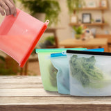 Silicone Kitchen Bag - Set of 4