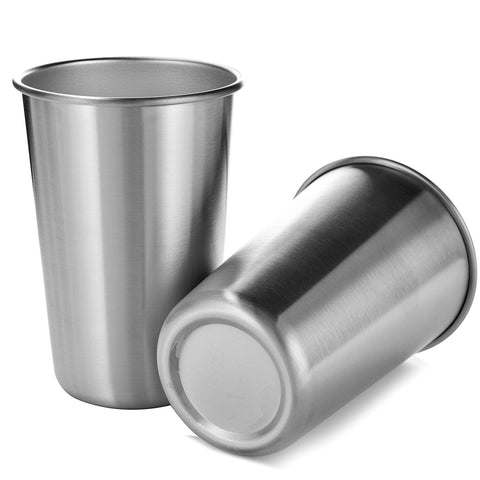 Stainless Steel Tumbler Pint Glass