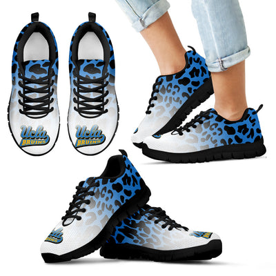 Leopard Pattern Awesome UCLA Bruins Sneakers