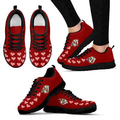 Love Extreme Emotion Pretty Logo Nashville Predators Sneakers