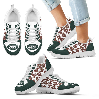 Great Football Love Frame New York Jets Sneakers