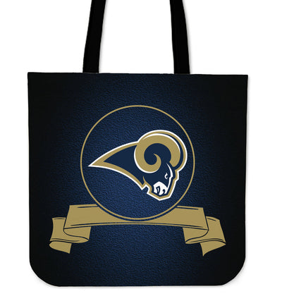 Score Art Los Angeles Rams Tote Bags