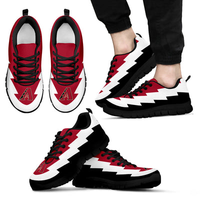 New Lovely Arizona Diamondbacks Sneakers Jagged Saws Creative Draw