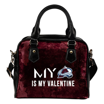 My Perfectly Valentine Fashion Colorado Avalanche Shoulder Handbags