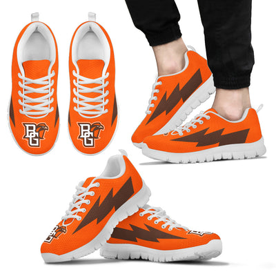 Cool Bowling Green Falcons Sneakers Thunder Lightning Amazing Logo