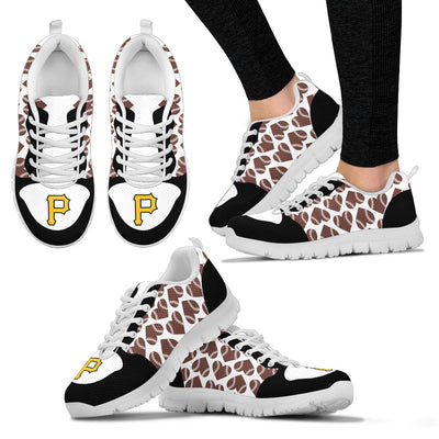 Great Football Love Frame Pittsburgh Pirates Sneakers