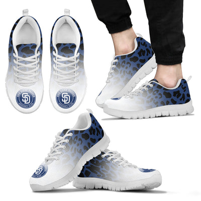 Leopard Pattern Awesome San Diego Padres Sneakers