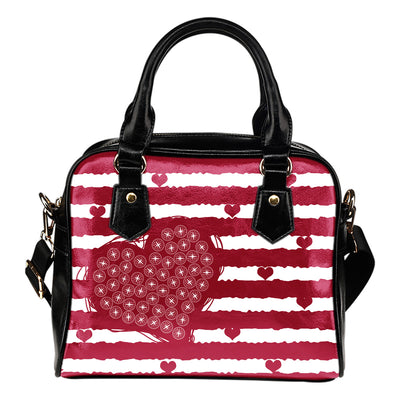 Unique Seattle Mariners Shoulder Handbags Sweet Romantic Love Frames