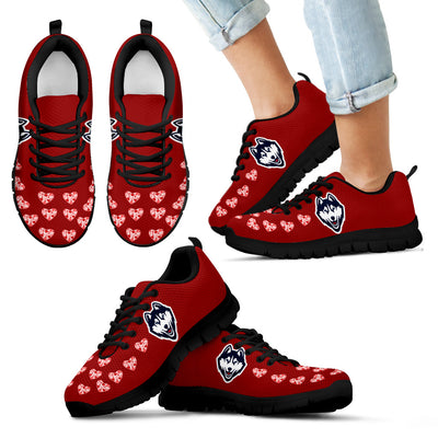 Love Extreme Emotion Pretty Logo Connecticut Huskies Sneakers