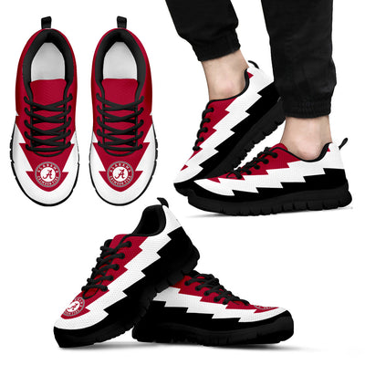 Amazing Alabama Crimson Tide Sneakers Jagged Saws Creative Draw