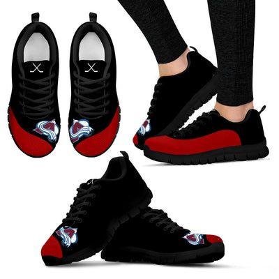 Valentine Love Red Colorful Colorado Avalanche Sneakers