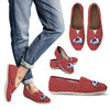 Red Valentine Cosy Atmosphere Colorado Avalanche Casual Shoes
