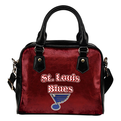Love Icon Mix St. Louis Blues Logo Meaningful Shoulder Handbags