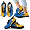 Dynamic Aparted Colours Beautiful Logo UCLA Bruins Sneakers