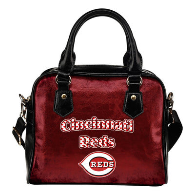 Love Icon Mix Cincinnati Reds Logo Meaningful Shoulder Handbags
