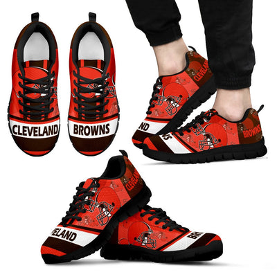 Three Impressing Point Of Logo Cleveland Browns Sneakers