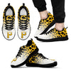 Leopard Pattern Awesome Pittsburgh Pirates Sneakers