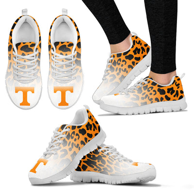 Leopard Pattern Awesome Tennessee Volunteers Sneakers