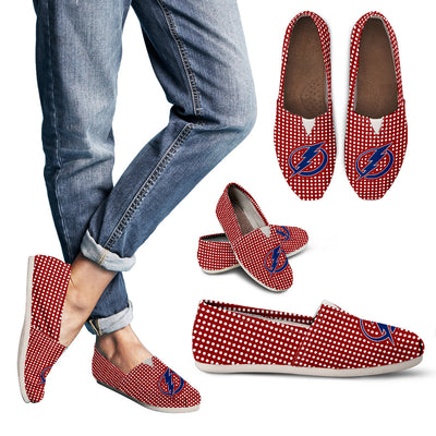 Red Valentine Cosy Atmosphere Tampa Bay Lightning Casual Shoes