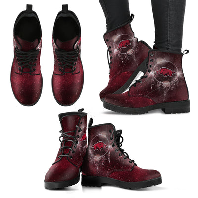 Secret Green Sun And Moon Dreamcatcher Arkansas Razorbacks Boots