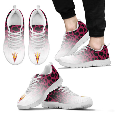Leopard Pattern Awesome Arizona State Sun Devils Sneakers