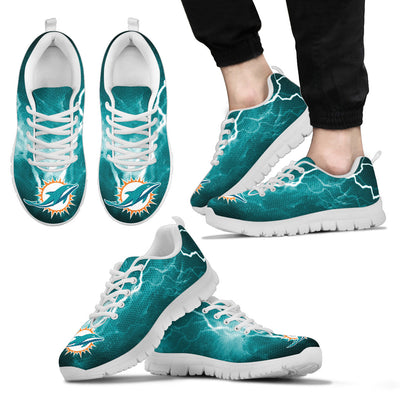 Miami Dolphins Thunder Power Sneakers