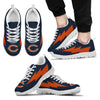 Beautiful Chicago Bears Sneakers Thunder Lightning Amazing Logo