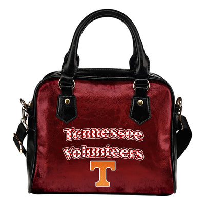 Love Icon Mix Tennessee Volunteers Logo Meaningful Shoulder Handbags