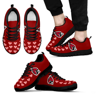 Love Extreme Emotion Pretty Logo Ball State Cardinals Sneakers