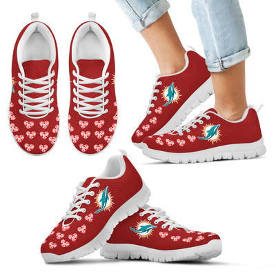 Love Extreme Emotion Pretty Logo Miami Dolphins Sneakers