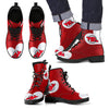 Enormous Lovely Hearts With New Jersey Devils Boots