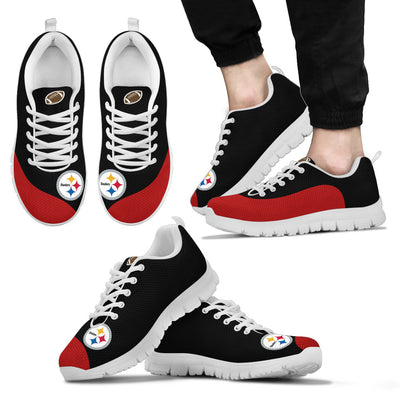Valentine Love Red Colorful Pittsburgh Steelers Sneakers