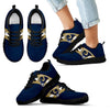 Three Colors Vertical Los Angeles Rams Sneakers