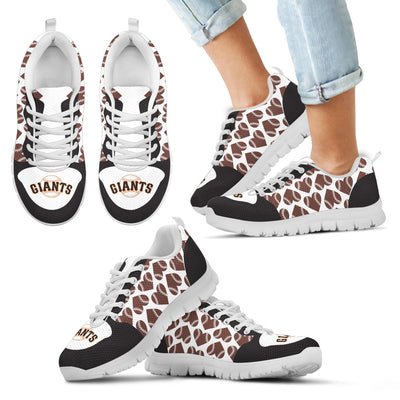 Great Football Love Frame San Francisco Giants Sneakers