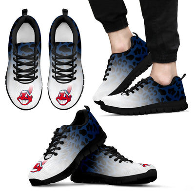 Leopard Pattern Awesome Cleveland Indians Sneakers
