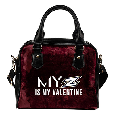 My Perfectly Love Valentine Fashion Akron Zips Shoulder Handbags