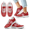 Love Extreme Emotion Pretty Logo Cincinnati Reds Sneakers