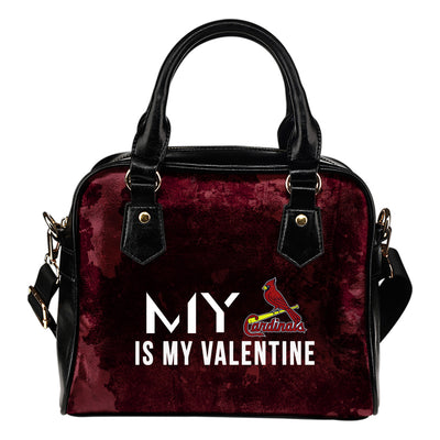 My Perfectly Love Valentine Fashion St. Louis Cardinals Shoulder Handbags