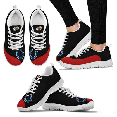 Valentine Love Red Colorful Indianapolis Colts Sneakers