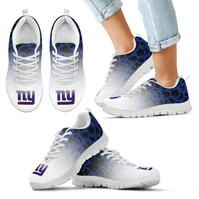 Leopard Pattern Awesome New York Giants Sneakers