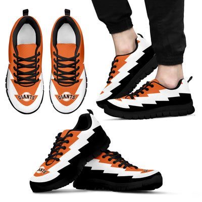 Super Cute San Francisco Giants Sneakers Jagged Saws Creative Draw