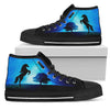 Funny Horse High Top Shoes Star Sky