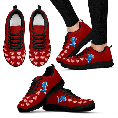 Love Extreme Emotion Pretty Logo Detroit Lions Sneakers