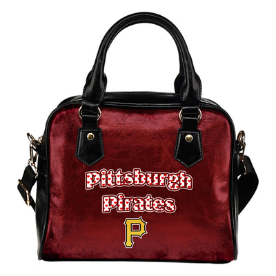 Love Icon Mix Pittsburgh Pirates Logo Meaningful Shoulder Handbags