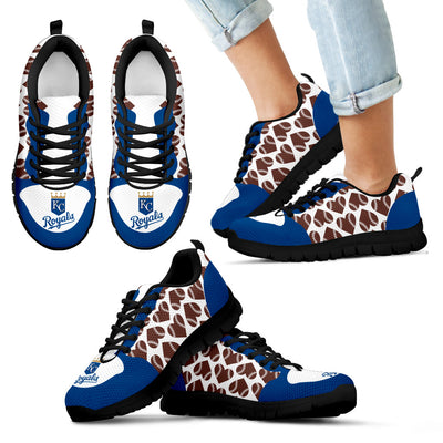 Great Football Love Frame Kansas City Royals Sneakers