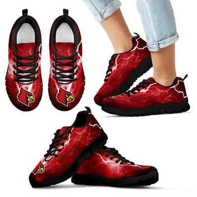 Louisville Cardinals Thunder Power Sneakers