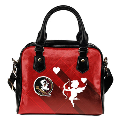 Superior Cupid Love Delightful Florida State Seminoles Shoulder Handbags