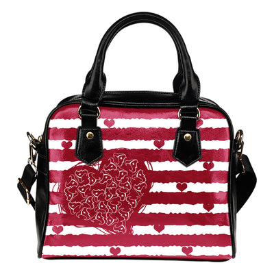 Sweet Romantic Love Frames Houston Texans Shoulder Handbags