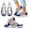 Great Football Love Frame Houston Texans Sneakers