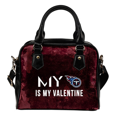 My Perfectly Love Valentine Fashion Tennessee Titans Shoulder Handbags